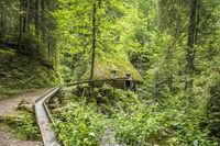 mill hut at Ravenna Gorge