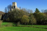 Naturpark Obere Donau; Ruine Dietfurt;