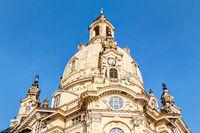 Frauenkirche am Neumarkt in Dresden