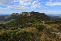 Views to Narrowneck Plateau Blue Mountains