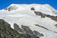 Alphubel Gipfel, Saas-Fee, Wallis, Schweiz