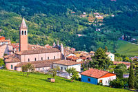 Picturesque village of Pazzon view