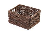 Simple basket on white