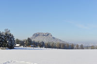 Lilienstein im Winter