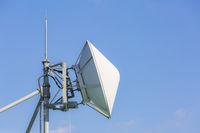 telecommunication satellite and radio transmitter