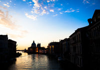 Venice view at sunrise