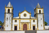 Olinda, Colonial Style Church, Brazil