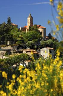 Frühling in Castellar, Frankreich