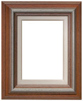Brown Wooden Frame Cutout