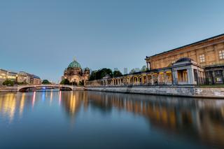 Die Museumsinsel und der Berliner Dom