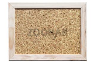 corkboard in frame