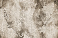 Texture of gray concrete wall. Plasterwork of interior design.