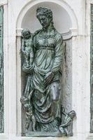 Fountain Statue Loreto