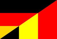 germany belgium flag