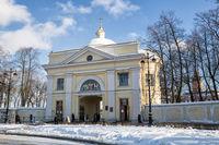Gate Church in the Alexander Nevsky Lavra