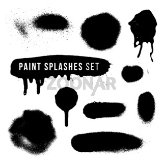 vector spray paint splatter texture