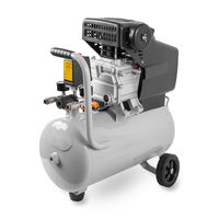 New Air Compressor on white background