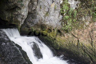Quelle des Flusses Sanica, Bosnien