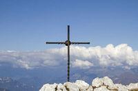 Gipfel in den Gardaseebergen