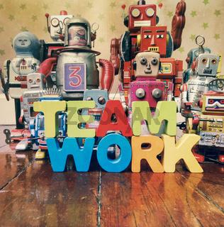 concept team work