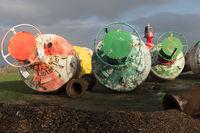 Seezeichen auf der Nordseeinsel Amrum