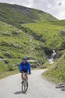 Mountainbiken im Gran Paradisogebiet