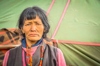 Frowning face in Nepal