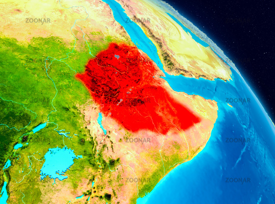 Ethiopia on Earth