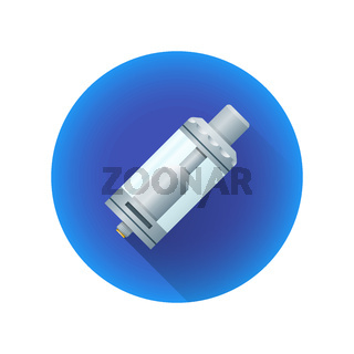 vector vaporizer atomizer device illustration