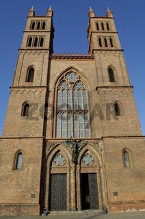 Friedrichwerdersche Kirche Berlin Januar