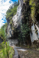 Waterfalls Road (Spanish - Cascades route), Banos - Puyo, Ecuador