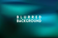 horizontal wide blue blurred background
