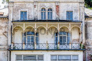 Historische, prunkvolle Bäder-Architektur in Heiligendamm