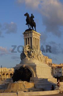 Maximo Gomez Statue,Havanna