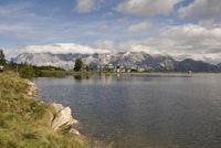 Gebirge Berge See