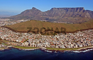 Blick auf Kapstadt; View of Cape Town