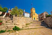 Mediterranean village of Zlarin stone architecture view