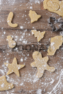 Raw Dough Holiday Cookies