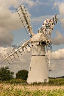UK Norfolk Thurne Windpump