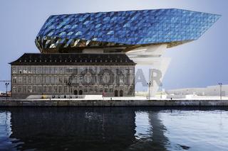 Hafen-Haus, Antwerpen, Flandern, Belgien