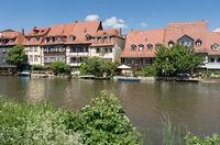 Historische Bauten in Bamberg, Deutschland, Europa