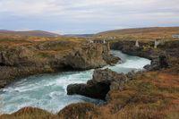 Skalfandafljot, river in Iceland.