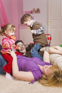 Belastung durch Kinder