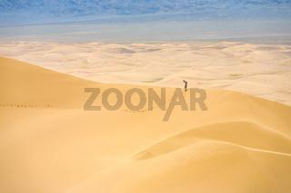 Khongor Els Sand Dune Top Person Comparative Scale