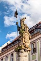Skulptur Rittert Dutschmann in Bautzen