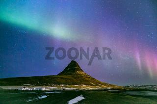 Northern Lights Aurora  Iceland
