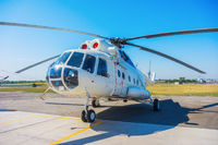 The helicopter Mi8