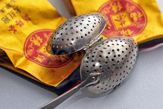 Historischer Teeei Löffel