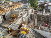 Baustelle in Schenna