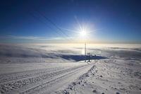 Ski lift at Bolchoi Voudyavr